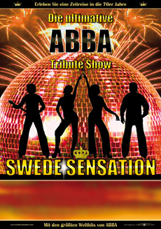 SWEDE SENSATION - Plakat A1