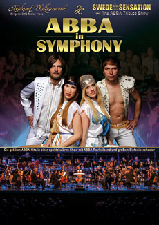 ABBA IN SYMPHONY - Plakat A1