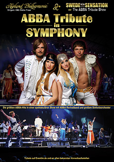ABBA TRIBUTE IN SYMPHONY - Plakat A1